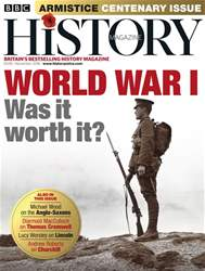 BBC History Magazine issue November 2018