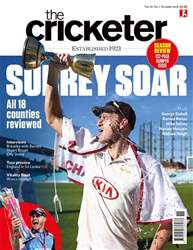 The Cricketer Magazine issue October 2018