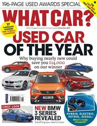 What Car Magazine issue November 2018