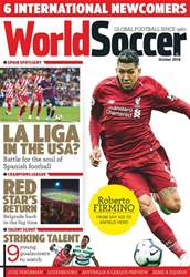 World Soccer issue October 2018