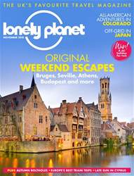 Lonely Planet Traveller (UK) issue November 2018