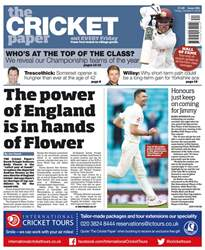 The Cricket Paper issue 5th October 2018