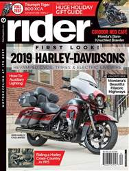Rider Magazine issue December 2018
