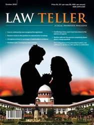 Lawteller – A Legal Awareness Magazine issue October 2018
