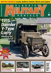 Classic Military Vehicle issue   November 2018