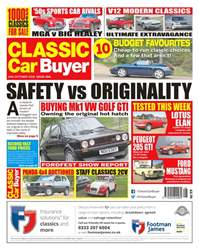 Classic Car Buyer issue 10th October 2018