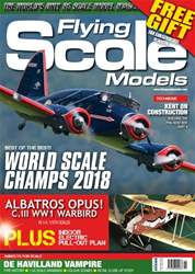 Radio Control Model Flyer Magazine Cover