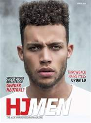 Hairdressers Journal issue HJ MEN WINTER 2018