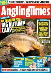 Angling Times issue 9th October 2018