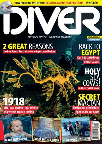 DIVER issue NOVEMBER 2018