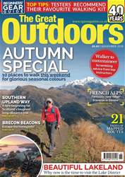 TGO - The Great Outdoors Magazine issue November 2018