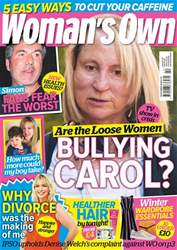 Womans Own issue 15th October 2018