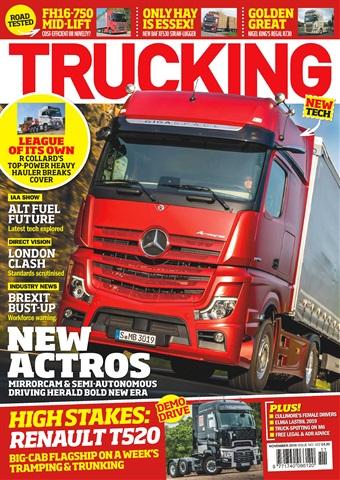 Trucking Magazine issue November 2018