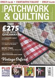Patchwork and Quilting issue Nov-18