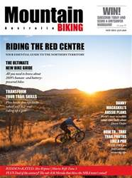 Mountain Biking Australia issue Nov-Dec-Jan 19