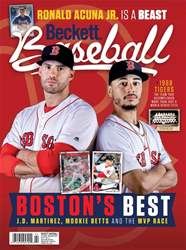 Beckett Baseball issue November 2018