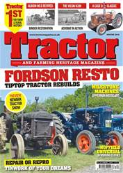 Tractor & Farming Heritage Magazine issue Winter 2018