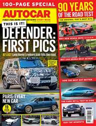 Autocar issue 10th October 2018