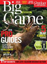 Big Game 2018 issue Big Game 2018