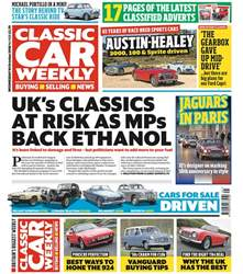 Classic Car Weekly issue 10th October 2018