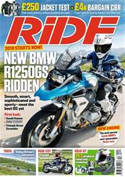 Ride issue December 2018