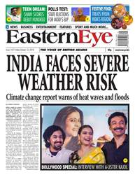 Eastern Eye Newspaper Magazine Cover