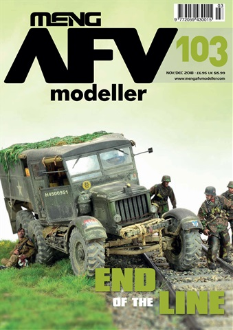 Meng AFV Modeller issue OCT