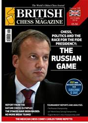 British Chess Magazine issue October 2018