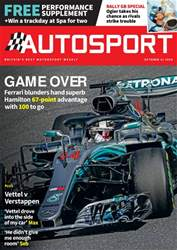 Autosport issue 11th October 2018