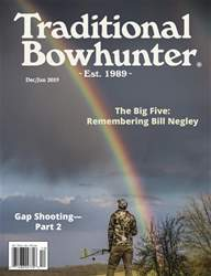 Traditional Bowhunter Magazine issue Dec/Jan 2019