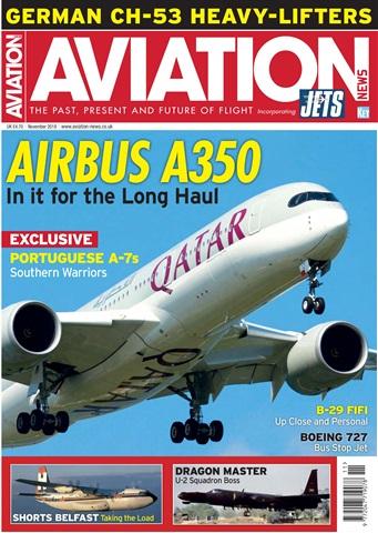 Aviation News incorporating JETS Magazine issue   November 2018