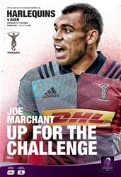 Harlequins issue Vs Agen