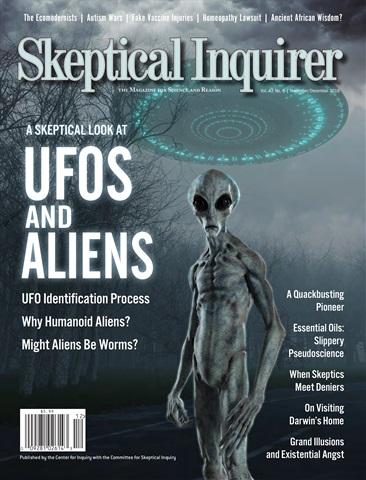 Skeptical Inquirer issue Nov/Dec 2018
