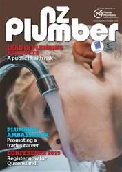 NZ PLUMBER Magazine Cover