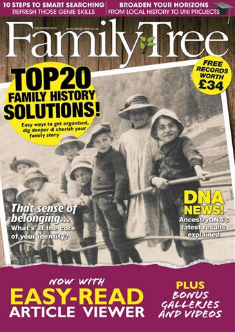 Family Tree issue Family Tree December 2018