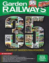 Garden Railways issue December 2018