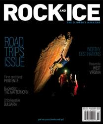 Rock and Ice issue November 2018