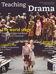 Teaching Drama Magazine Cover