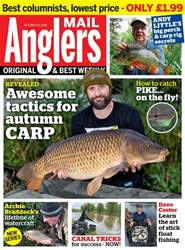 Anglers Mail issue 16th October 2018