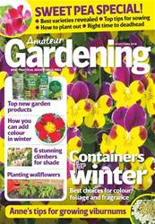 Amateur Gardening issue 20th October 2018