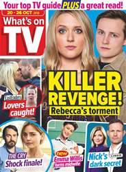 What's on TV issue 20th October 2018