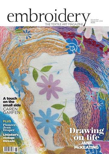 Embroidery Magazine Preview
