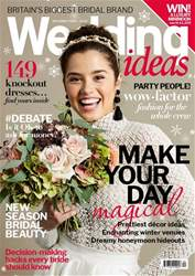Wedding Ideas magazine issue December 2018