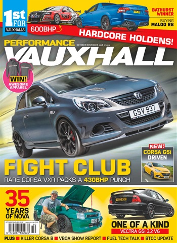 Performance Vauxhall issue Oct-Nov 18