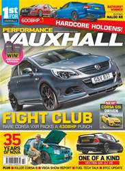 Performance Vauxhall issue Oct-Nov 18