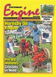 Stationary Engine issue December 2018