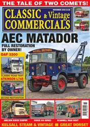 Classic & Vintage Commercials issue November 2018