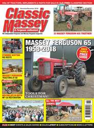 Classic Massey issue Nov/Dec 2018