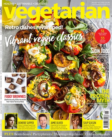 Vegetarian Living issue November-18