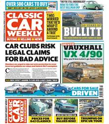 Classic Car Weekly issue 17th October 2018